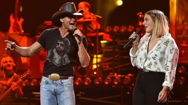 Tim McGraw Sings a Duet With His Daughter Gracie
