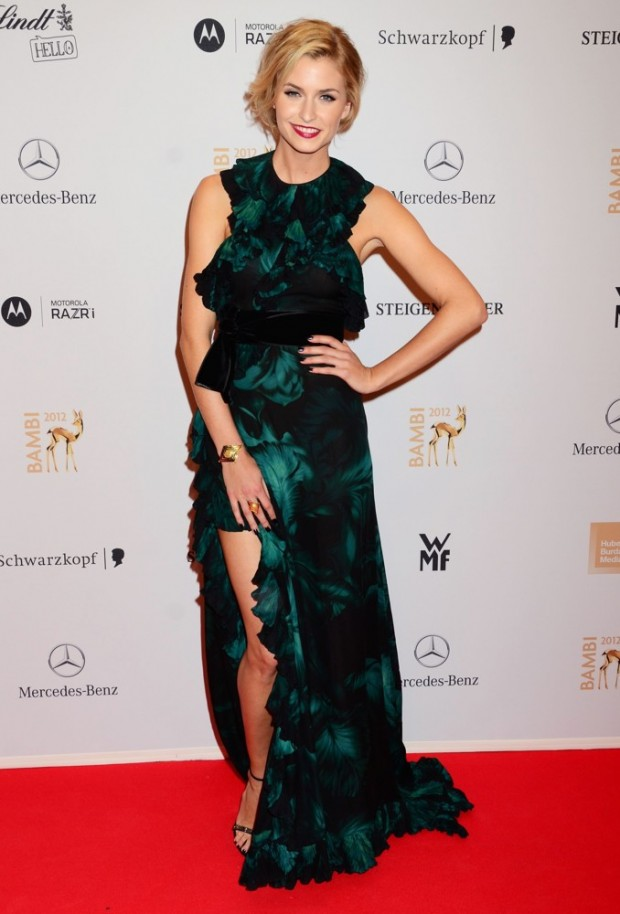 Lena Gercke In The AMF AR Gala