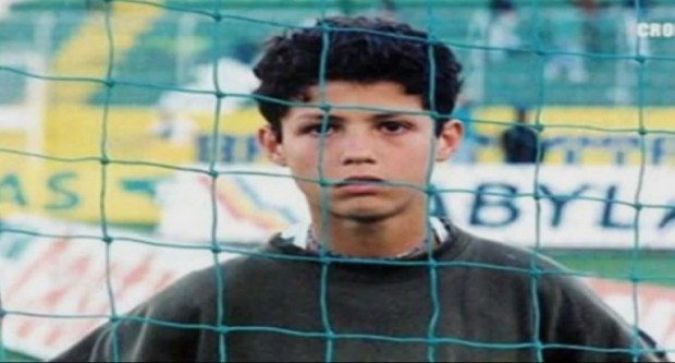 Cristiano in His Younger Days