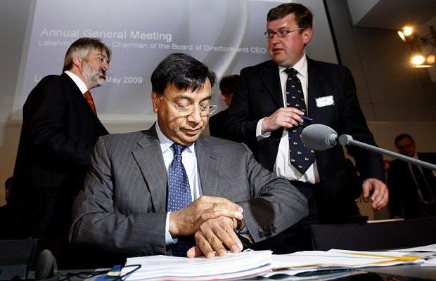 Lakshmi Mittal at Annual Meeting with Shareholders