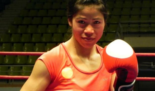 Mary Kom In Asian Games