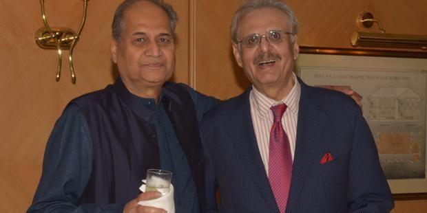 Rahul Bajaj And Yogi Deveshwar