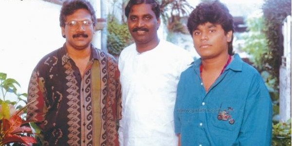 AR Rahman with Mani Ratnam