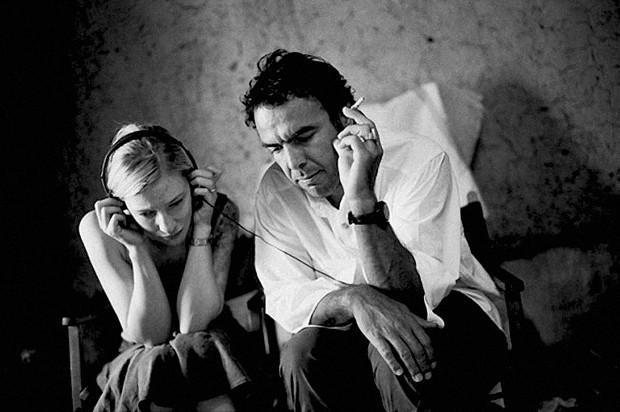 Alejandro González Iñárritu With Cate Blanchett