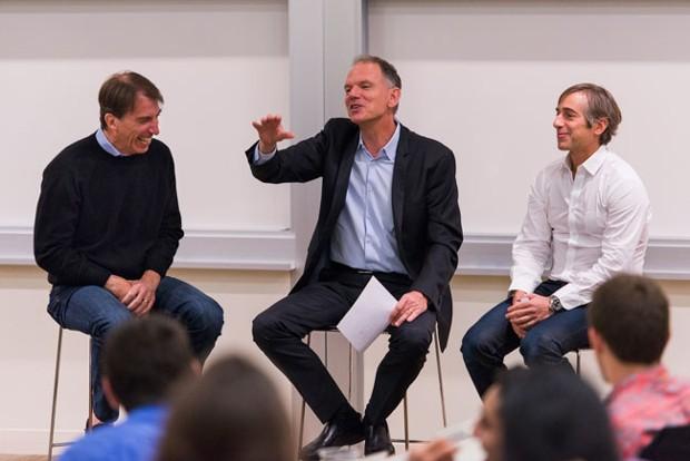 Mark Pincus With Andy Rachleff,Geoffrey Garrett