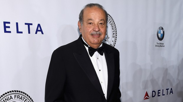 world's 6th richest person Carlos Slim Helu