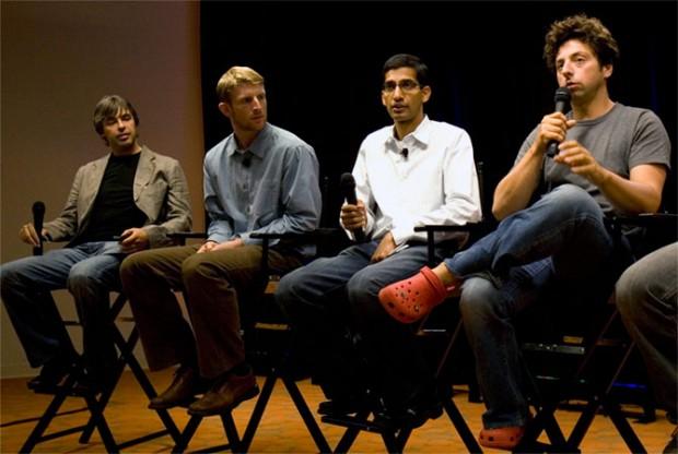 Sundar Pichai With Co Founders