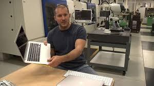 Jonathan Ive at His Personal Lab