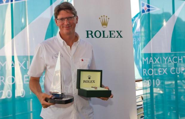 Niklas Zennstrom Won Rolex World Championship