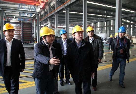 Chairman of ENN Wang Yusuo visited Company