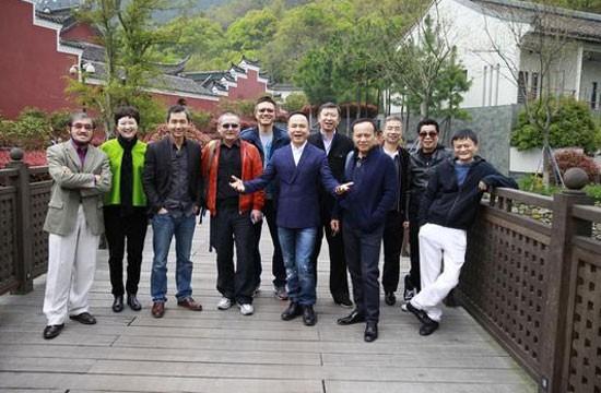 Shen Guojun at Ecological Protection Foundation