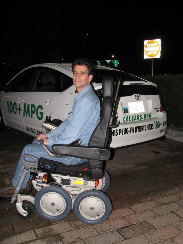Dean Kamen Riding IBOT