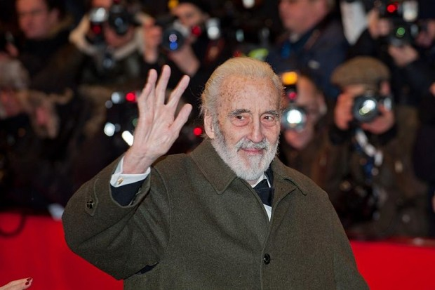 Christopher Lee At Berlin International Film Festival