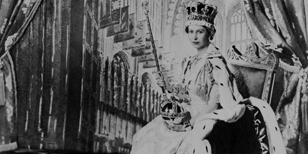 Elizabeths Coronation as the Queen in 1952