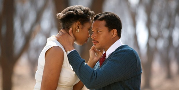 Terrence Howard and Jennifer Hudson Performing