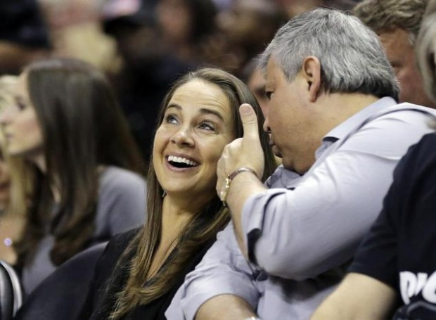 Becky Hammon takes in the Spurs opening-round series against the Mavericks