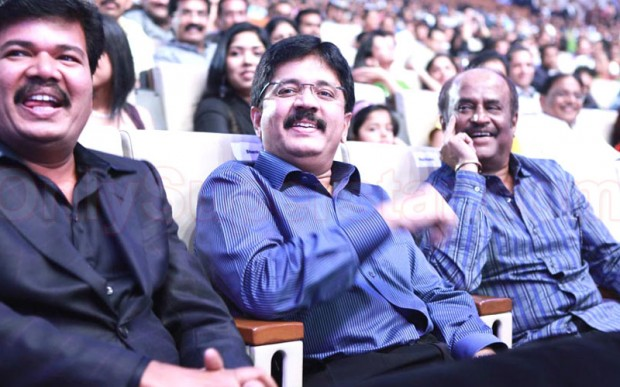 Kalanithi Maran with Superstar Rajinikanth