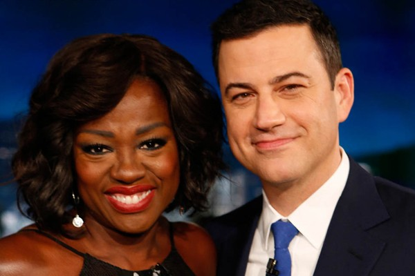 Kimmel tonight  Show With Viola Davis