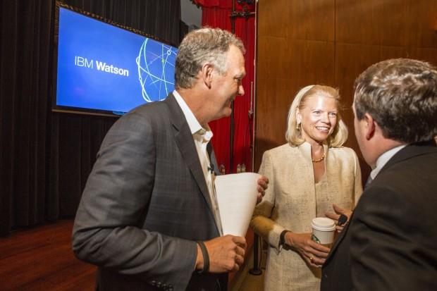 IBM CEO Ginni Rometty at the IBM event Watson