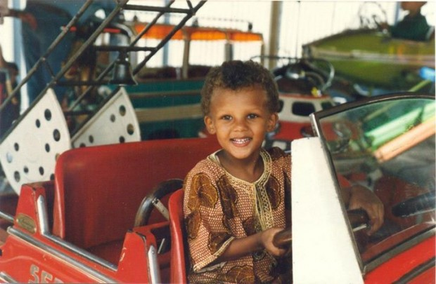 Stromae as a Toddler