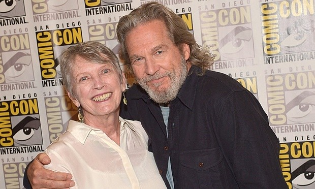 Jeff Bridges with Lois Lowry
