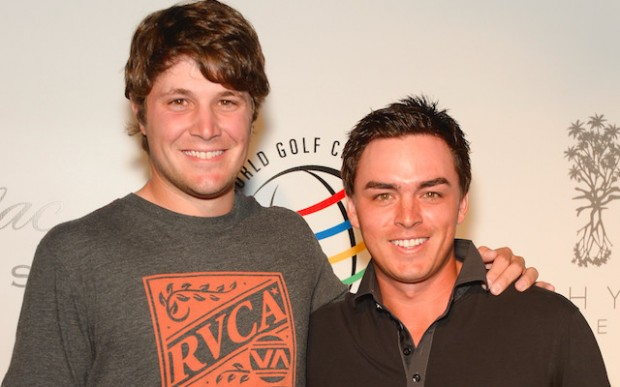 Peter Uihlein With Rickie Fowler