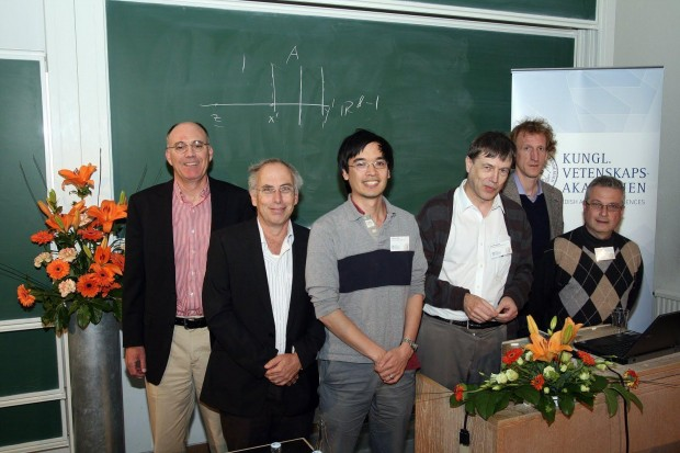 Carlos Kenig, Ben Green, Jean Bourgain, Terry Tao, me and Michael Christ