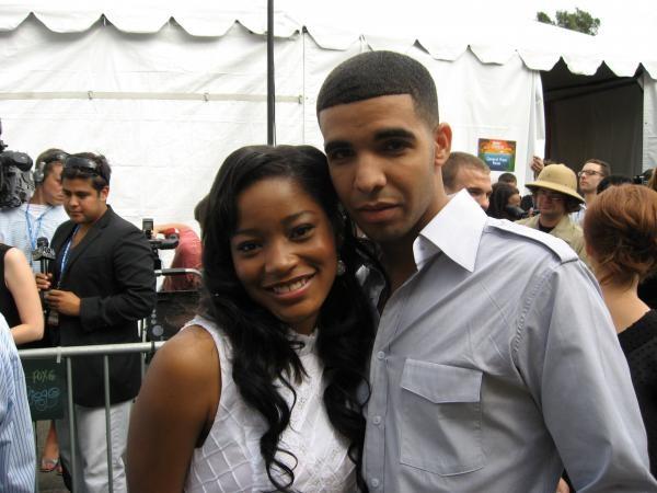 Keke Palmer With Drake