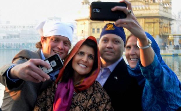 South Carolina Governor Nikki Haley Visits Golden Temple in Amritsar