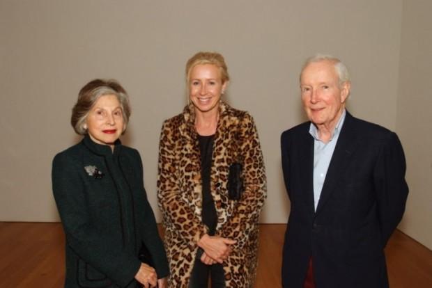 Rita McAulay, Claire Keswick and Ronald McAulay