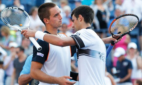 Novak Djokovic At US Open 2010