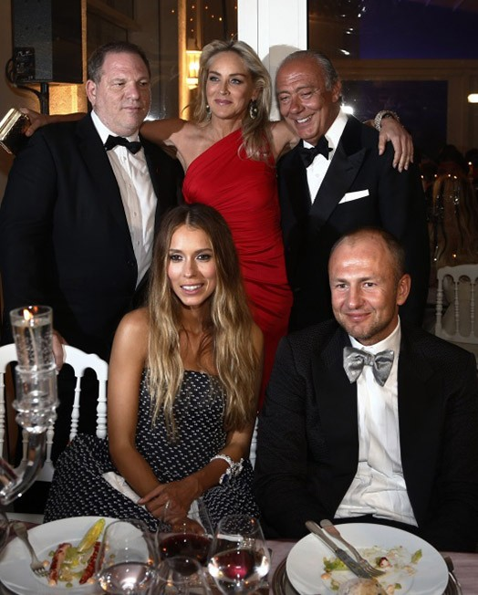 Andrey Melnichenko With Spouse At A Dinner Party