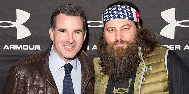 Kevin Plank and Willie Robertson At Chicago
