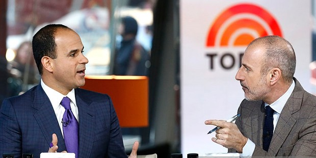 Marcus Lemonis and Matt Lauer appear on NBC News