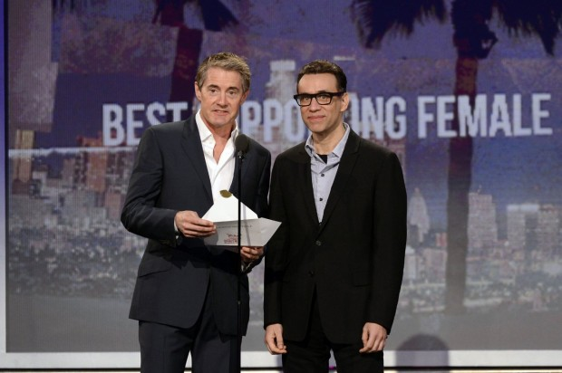 Kyle MacLachlan With Fred Armisen
