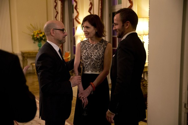 Stanley Tucci, Elizabeth McGovern Along With Tom Ford