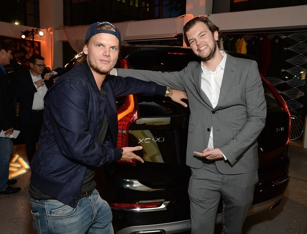 Avicii with Carl Vernersson