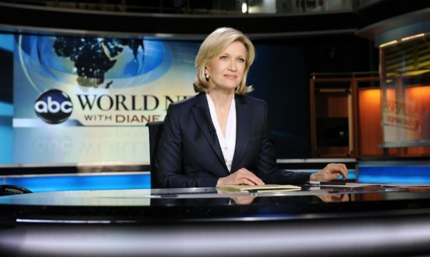 Diane Sawyer hosting World News in 2009