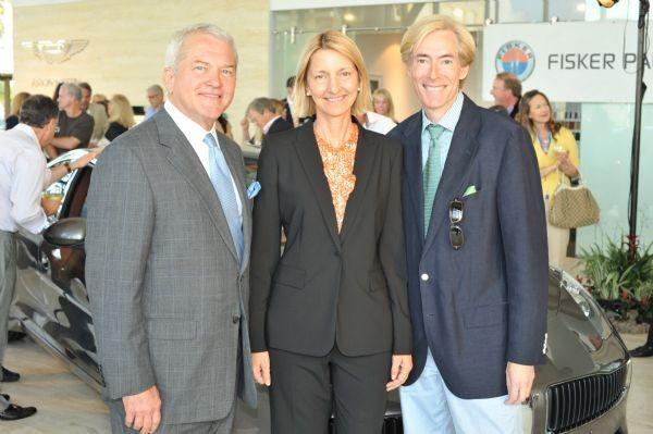 Mark Foley, Patricia Romeo with Dr. Layne Nisenbaum