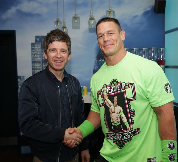 Noel Gallagher Meets John Cena