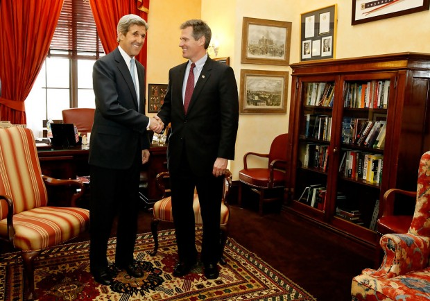 John Kerry with Scott Philip