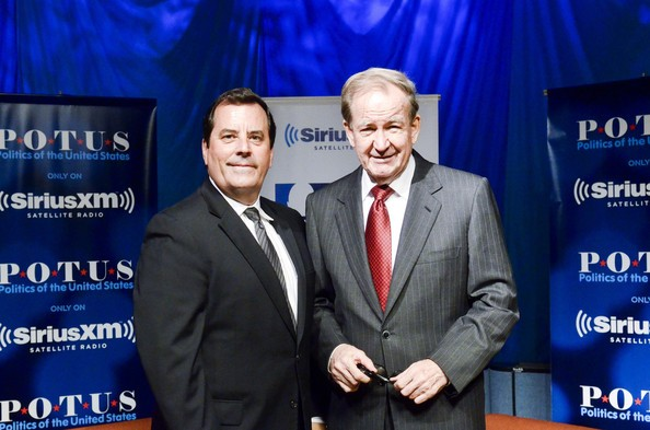 Pat Buchanan with Tim Farley