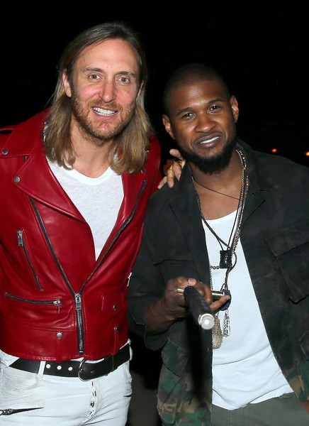 Usher with David Guetta