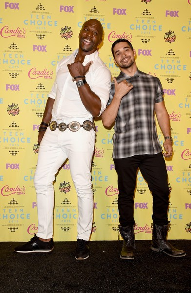 Terry Crews with Wilmer Valderrama