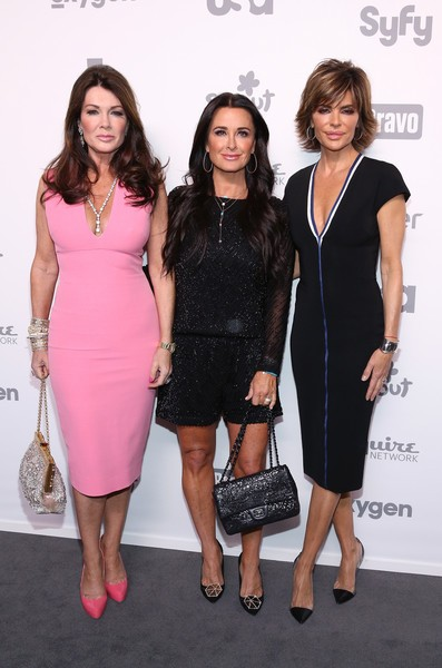 Lisa Rinna, Kyle Richards with Lisa Vanderpump
