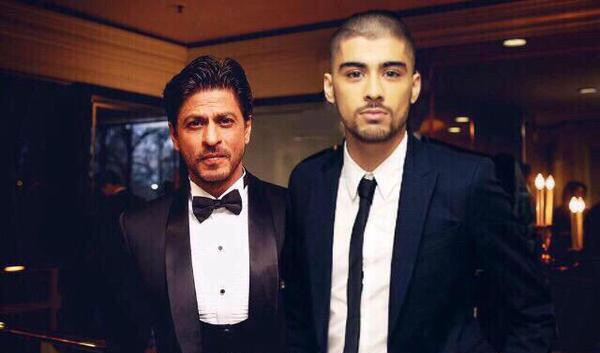 Zayn Malik Meeting With Shah Rukh Khan
