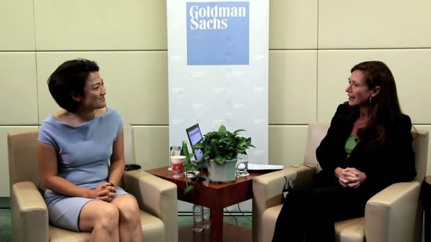 Zhang Xin in Goldman Sachs