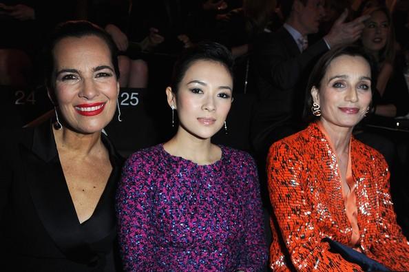 Kristin Scott Thomas, Zhang Ziyi with Roberta Armani