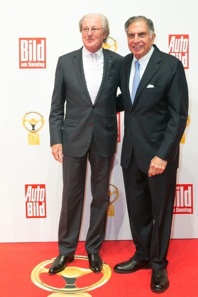 Ratan Tata with Wolfgang reitzle