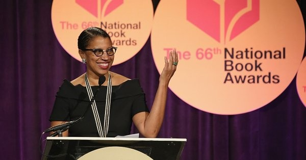 Robin Coste Lewis Speaking at National Book Awards